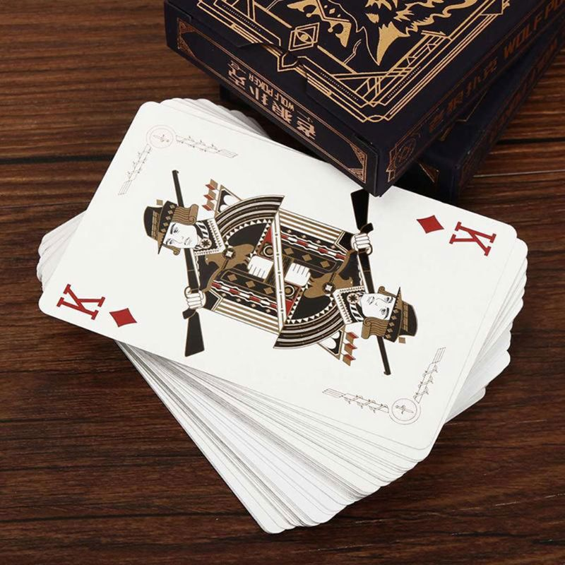 2020 New 54pcs/set Paper Werewolves Poker Card Deck Family Party Board Game Playing Cards