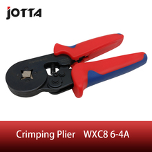 WXC8 6 4A crimping tool crimping plier 2 multi tool tools hands Mini Type Self Adjustable Crimping Plier