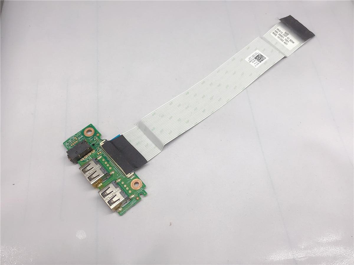 Для Dell 15 3551 3552 3558 5100 USB аудио Плата 14856-1 с кабелем 0C2G6K