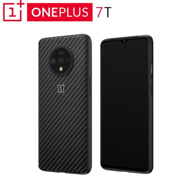 מקורי OnePlus 7T פגוש מקרה Karbon הגנה ללא פשרות מושלמת