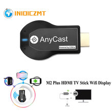 INIOICZMT 1080P M2 Plus HDMI TV Stick Wifi Display TV Dongle Receiver Anycast DLNA Share Screen for IOS Android Miracast Airplay