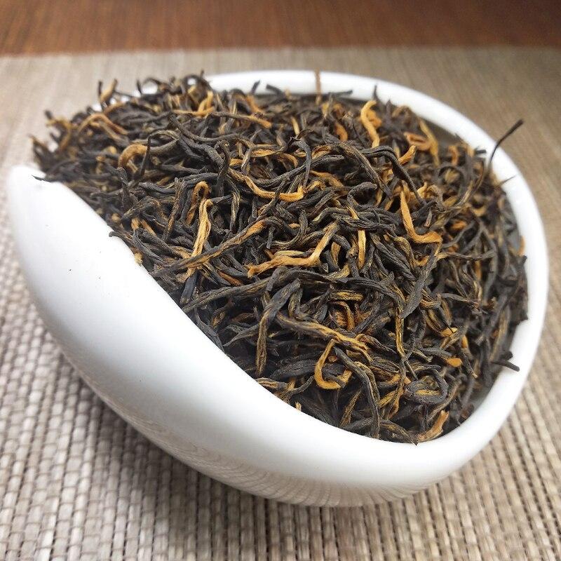 Chinese Organic Jin Jun Mei Jinjunmei Golden Eyebrow Wuyi Black Kim Chun Mei Cha Tea