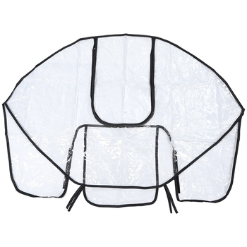 Baby stroller rain cover Non-toxic Tasteless PVC Universal Wind Dust Shield For Strollers Pushchairs stroller accessories babyrule baby stroller accessories universal waterproof rain cover wind dust shield for strollers pushchairs stroller buggy