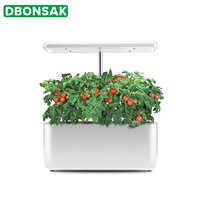 Intelligent Indoor Garden Hydroponic Box Soilless Cultivation Equipment Full Spectrum LED Grow Light Planter Nursery Pots