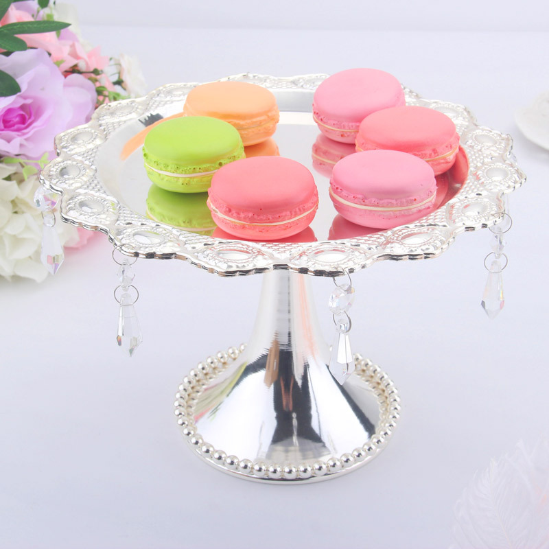 Metal cake stand Wedding Dessert Tray Cake Stand Holder Party Birthday Decoration Pan Cookies Display Home decora