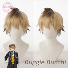 [anihut】ruggie bucchi косплей парик игра витая Страна Чудес