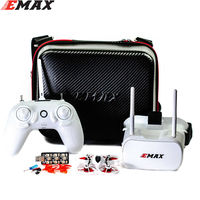 Emax Tinyhawk-Dron de carreras de 75mm F4 Magnum Mini FPV 5,8G con cámara RC 2 ~ 3S BNF con 2 pares de hélices de 40mm para RC