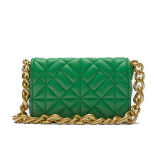 Soft Pu Leather Chain Shoulder Bag Brand Design Casual Women Purses and Handbag Green Clutch Tote Bags for Women High Quality