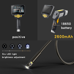 """Image 5 - Portable Dual Lens Handheld Endoscope 4.3""""Screen Inspection Camera with 6 LED 8mm Industrial Digital Endoscopy With 32GB TF Card"""