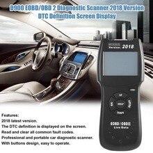 أحدث نسخة V2019 D900 رمز القارئ canecast الماسح OBD2 لايف PCM بيانات الماسح الضوئي السيارات رمز EOBD التشخيص ماسح الرادار الخاص بالسيارة