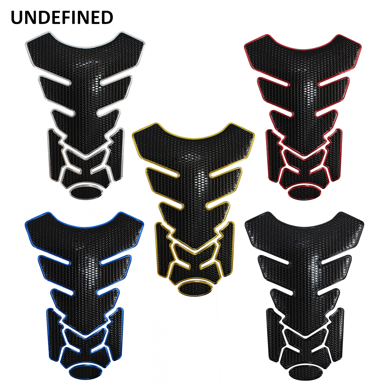 Motorcycle 3D Rubber Sticker Gas Fuel Oil Tank Pad Protector Cover Decals Case For Honda Yamaha KTM BMW Kawasaki Suzuki Tankpad