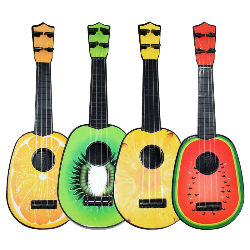 2020 New Hot Kids Fruit Ukulele Ukelele Uke Small Guitar Musical Instrument Toy Gift New Kid Child Musical Instrument
