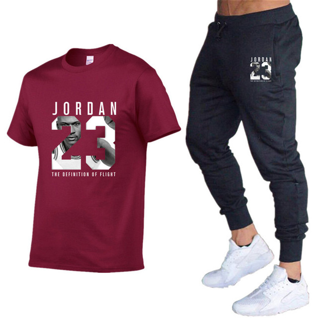 Men's Sets T Shirts pants Two Pieces Sets Casual Tracksuit Male 2020 Casual Tshirt