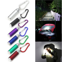 Mini Pocket LED Flashlights Portable Keychain Keyring Handy Light Camping Flashlight Torch Lamp Lights