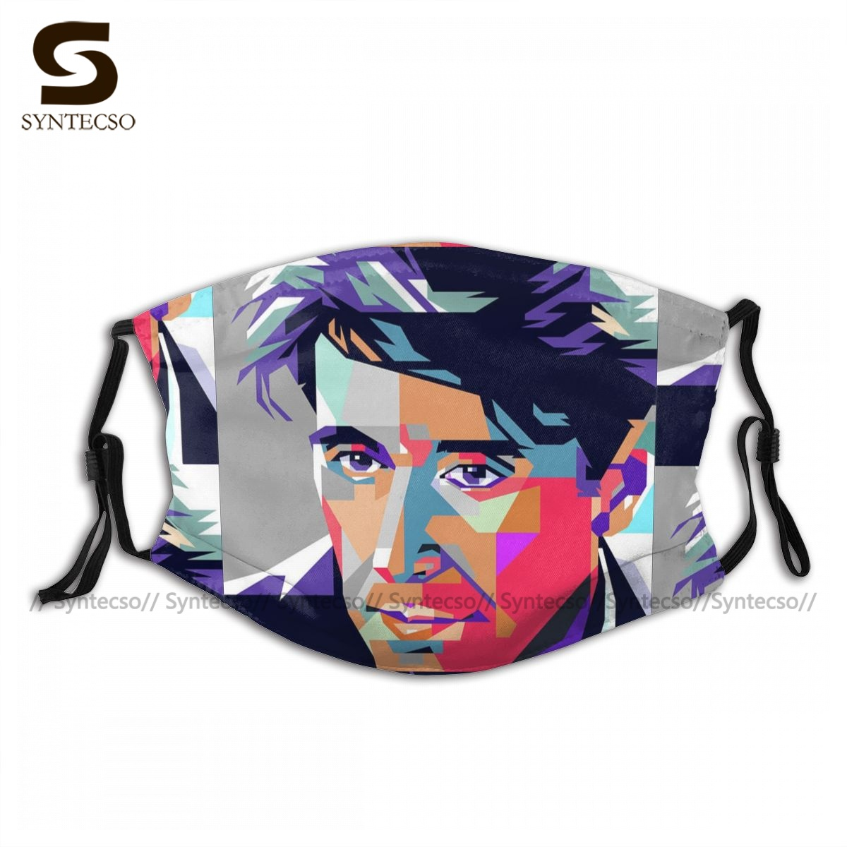 Swag Dust Protection Al Pacino Five Face Mask Fun Adult Polyester Bike Facial Mouth Mask With Filters