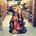 Сцена свет фон Рождественский подарок для мамы Иисуса Христа Мэри Джозеф католический статуэтки статуя Святого семейства рождественские у...