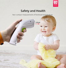 Yongrow Medical Infrared Thermometer Forehead Baby Portable Non-contact child Handheld Body/Object Temperature Measure IR Device