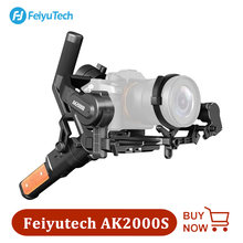 FeiyuTech Feiyu AK2000S DSLR Kamera Stabilisator Handheld Video Gimbal für DSLR Spiegellose Kamera Sony Canon Nikon 2,2 kg Nutzlast