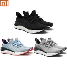 Nouveau Xiaomi Mijia chaussures de sport 4 baskets une technologie de moulage textile élastique tricot amortisseur semelle course confort chaussures 3