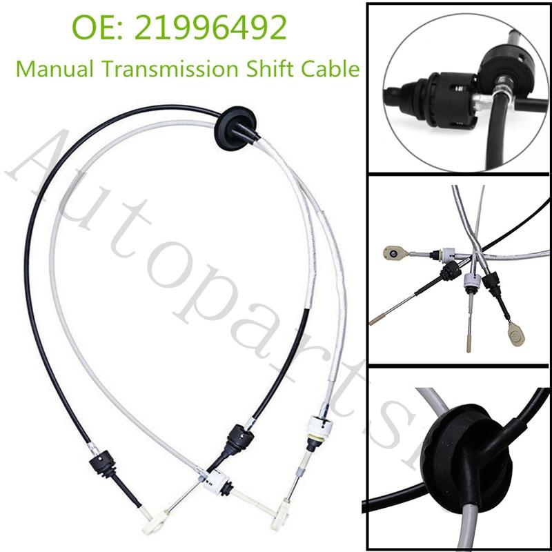 21996492 EB03AN 2199 6492 câble de changement de vitesse de Transmission manuelle pour 2004-2007 saturne Vue 2.2L 2.5L OEM livraison gratuite