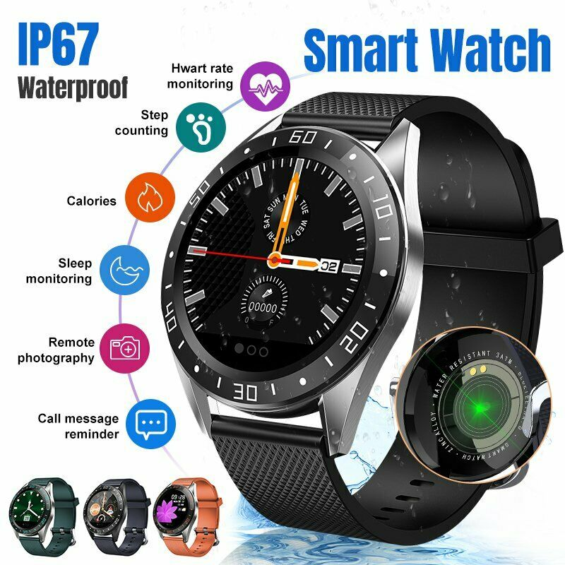 <font><b>GT105</b></font> Smart Watch Men Blood Pressure Heart Rate IP67 Waterproof Fitness Tracker <font><b>Smartwatch</b></font> image