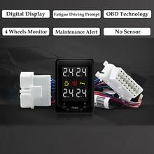 도요타 CH R CHR 하이브리드 2018 2019 OBD TPMS 디지털 디스플레이 타이어 압력 보안 모니터링 시스템 필요 없음 추가 센서