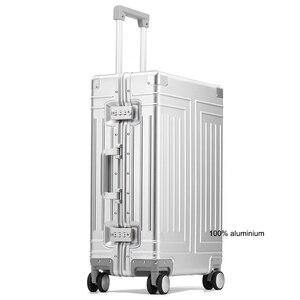 Image 3 - TRAVEL TALE valise de voyage rigide en aluminium 1809 valise de voyage, valise à bagages rigide, 20/24/26/29 pouces, nouvelle collection