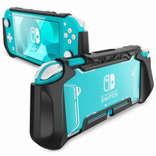 Mumba Grip Per Il Caso di Nintendo Interruttore Lite Lama di Caso Della Copertura di TPU Custodia Protettiva Portatile Compatibile con Interruttore Lite Console (2019)