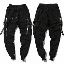 Regular style fat pants fat man extra large men's cotton guard pants Multi Pocket elastic belt pants