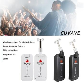 m giuliani grand duo concertant for guitar and flute op 130 5.8Ghz Wireless Guitar System Transmitter and Receiver Built-in Rechargeable Battery 30 m Transmission Range for Electric Guitar