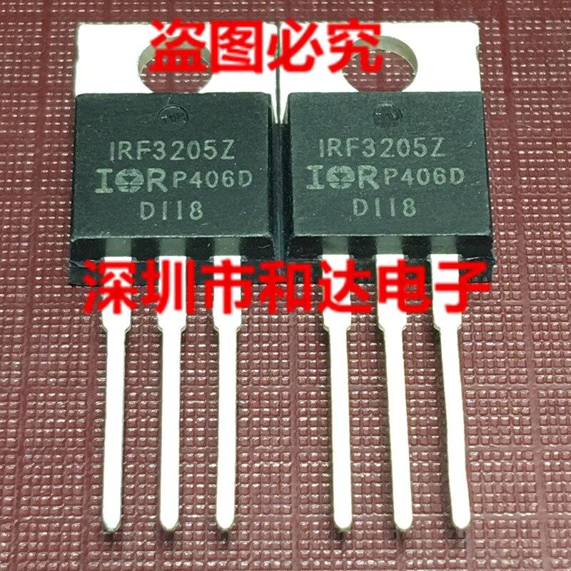 10 шт. IRF3205Z-220 55В 75A