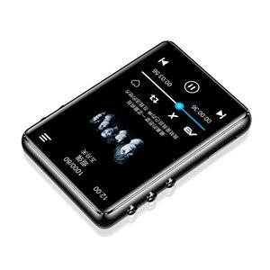 Image 2 - Оригинальный металлический MP3 плеер Bluetooth 5,0, сенсорный экран 2,4 дюйма, встроенный динамик 16 ГБ, электронная книга, Радио, запись, воспроизведение видео