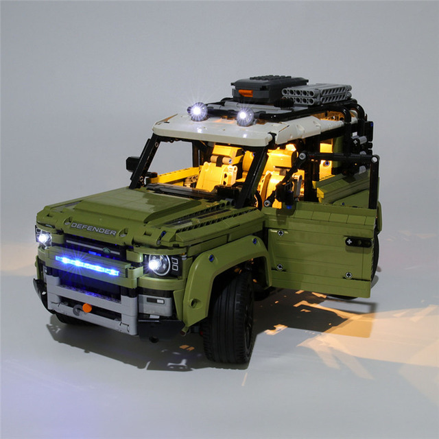 USB Powered Building Blocks LED Lighting Kit for 42110 blocks accessories (LED Included Only, No Kit) 4