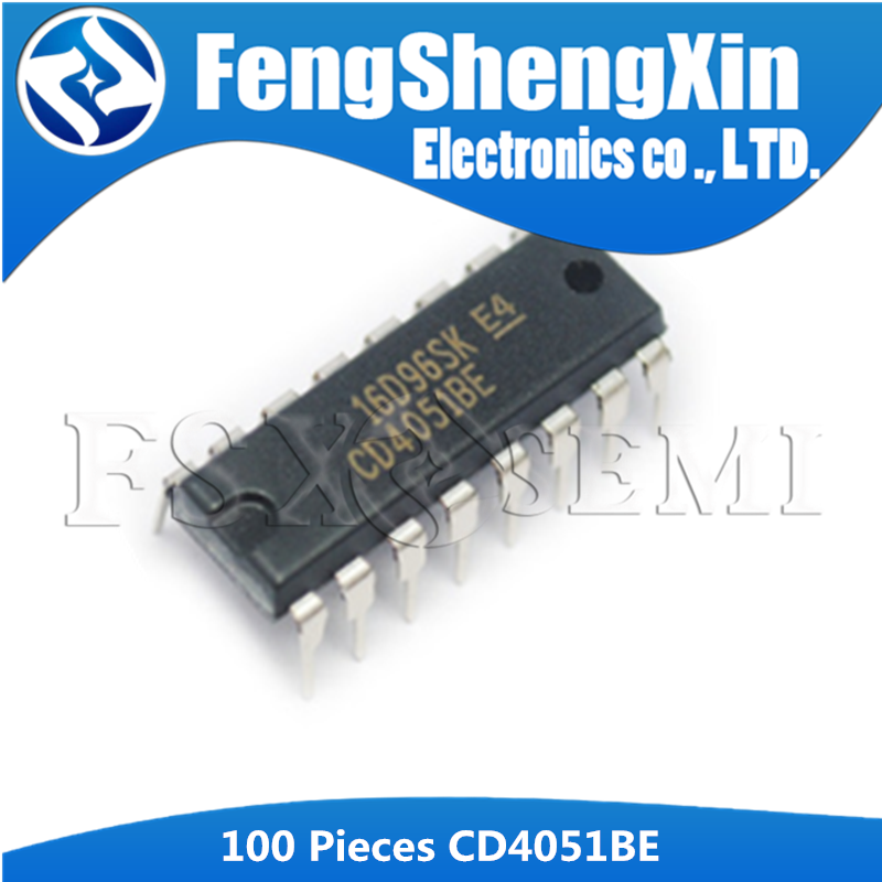 10PCS CD4051BE DIP-16 IC original TI