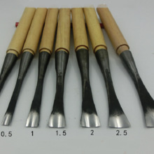 NEW Middle circle woodwork Carving knife dig a hole Spoon knife chisel 0.3-5cm Hand Wood Carving Knives