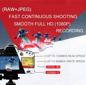 Image 3 - Sandisk cf cartão de memória compacto extremo 32 gb 64 gb 128 gb até 120 mb/s velocidade de leitura 4 k e vídeo hd completo