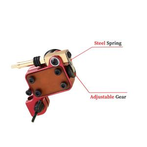 Image 5 - רוטרי קעקוע מכונת יפני מנוע אלומיניום סגסוגת מסגרת (אדום)