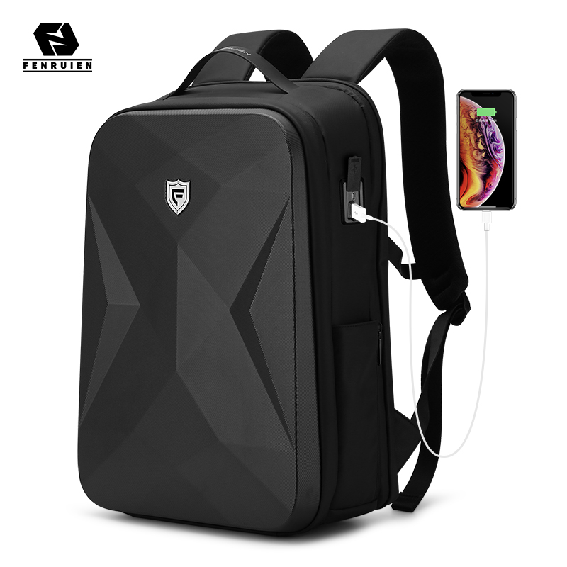 Fenruien 2021 New Men Backpack Fit For 17.3 Inch Laptop Backpack Multifunctional Waterproof Anti Theft Business Travel Backpacks
