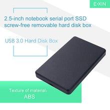 USB 3,0 жесткий диск коробка 2,5 дюймов ноутбук последовательный порт SSD бесвинтовой мобильный жесткий диск коробка
