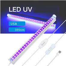 395nm UV 24LED colloid curing Light 5W UVC Germicidal Sterilizer Lamp USB Rechargeble Ultraviolet Disinfection Bactericidal