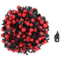 Goteros de riego ajustables que emiten micro aspersores cabezales de 1/4 pulgadas Kits de riego por goteo para invernadero Patio jardín flor Be|Kits de riego| |  -