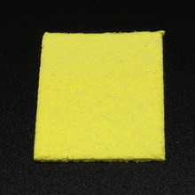 1pcs Yellow Cleaning Sponge Cleaner For Enduring Solder Welding Station Electric Soldering Iron Tips Clean Repair Tools(China)
