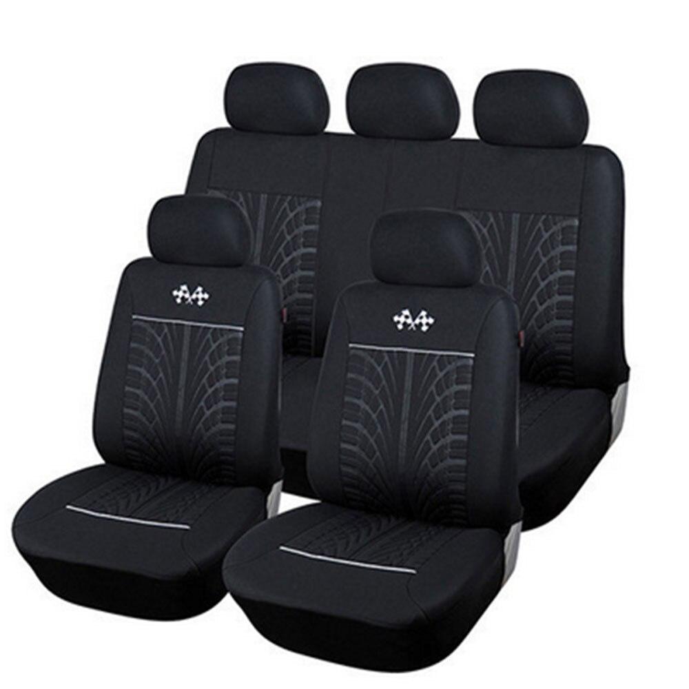 Full Coverage flax fiber car seat cover auto seats covers for nissanalmera n16 g15 classic  altima juke kicks march micra muran