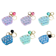 Mini Hamster Memory Game Toy Keychain Led Electronic Hamster Button Game Machine Q6PD