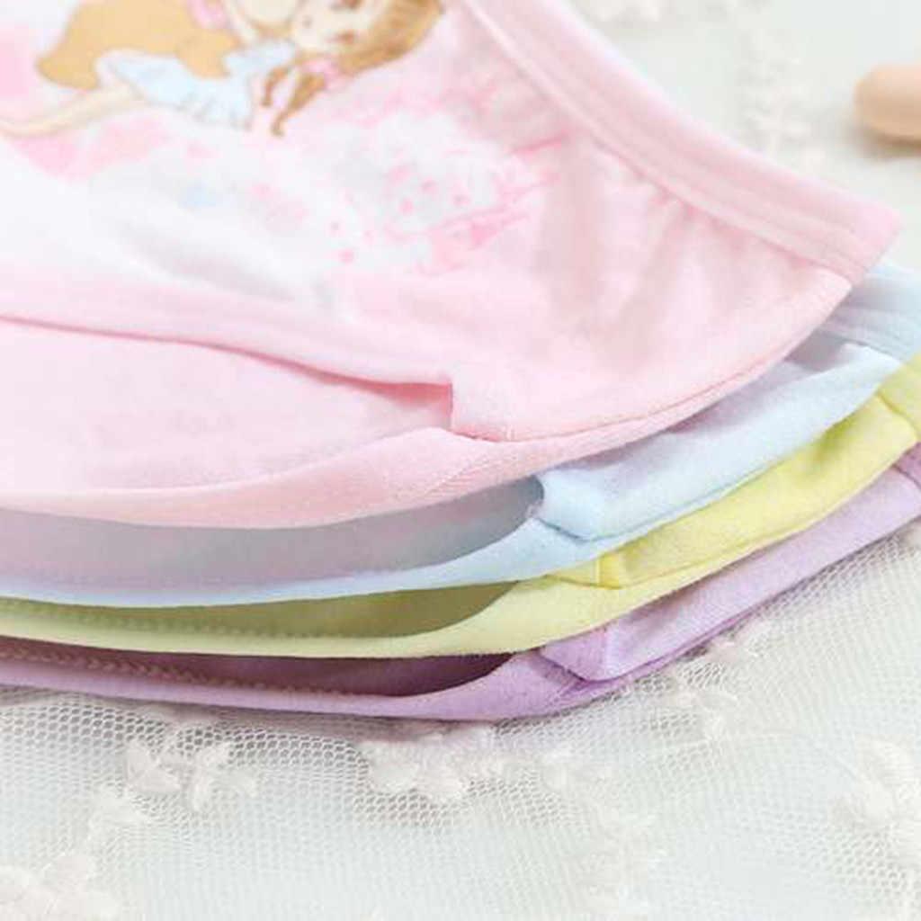 4 قطعة/المجموعة 2020 جديد الاطفال الفتيات سراويل القطن سراويل داخلية للرجال الأميرة ملابس داخليّة حريمي الأطفال الاطفال الطفل الكرتون سراويل السروال