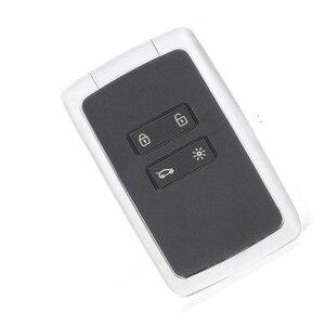 Image 5 - Wilongda 4 taste Auto Smart Remote Key 434mhz PCF7945M HITAG AES 4A Chip Für Renault Megane 4 keyless schlüssel für Talisman Espace5