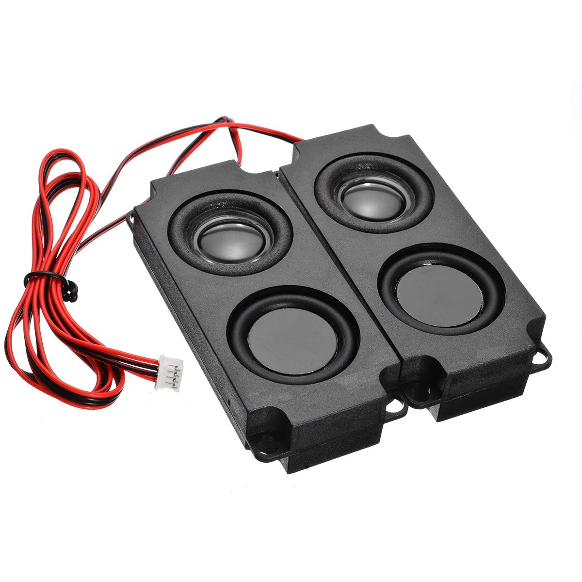 2Pcs Tragbare Audio Lautsprecher 4510-10045 8Ohm 5W LCD TV Werbung Lautsprecher für DIY Heimkino Sound system