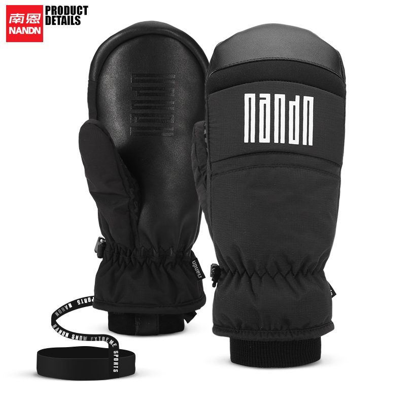 NANDN Ski Golve Warm Wind Proof Cycling Men And Women Snowboard In Winter
