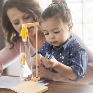 Kids Wood Learning Toys Crane