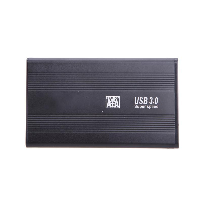 USB 3.0 SATA 2.5inch HD HDD Hard Disk Box Drive Enclosure Aluminum Portable USB 3.0 SATA Enclosure Adapter Case For PC Laptop